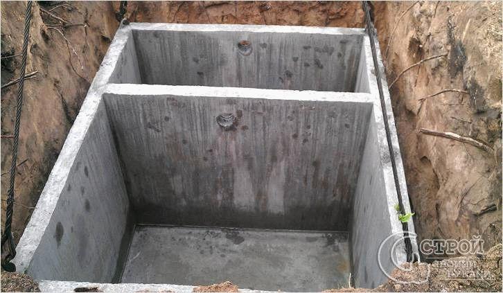 Септики из бетона бетон заказать с доставкой москва