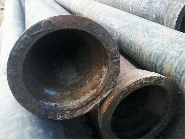 Срок службы чугунных канализационных труб гост