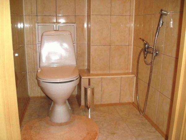 Гигиенический душ монтаж в стене